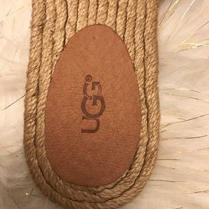 1e8fb0455ec NWOT UGG Edith jute slide sandle size 8